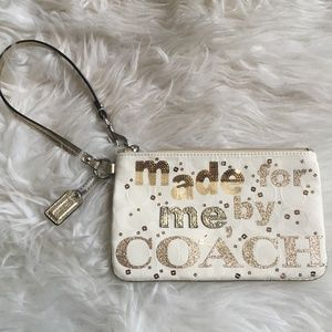 Coach Poppy Made for Me by Coach Wristlet